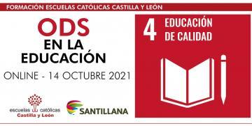 Jornada ODS en la educación – Santillana (Online – 14 octubre 2021 – de 16:30 a 18:00h)