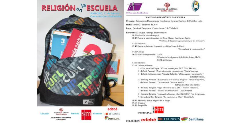 El primer Simposio 'Religión en la escuela' reúne en Valladolid a 550 profesores de esta asignatura
