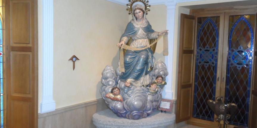 La Abadía-Colegio Santísima Trinidad de El Tiemblo celebra el año jubilar de Nuestra Señora de la Cinta