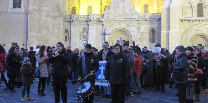 Vía Crucis por las calles de León