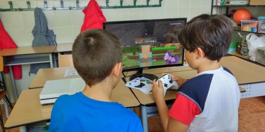 Jornada de Minecraft en el Colegio San Agustín (Valladolid)