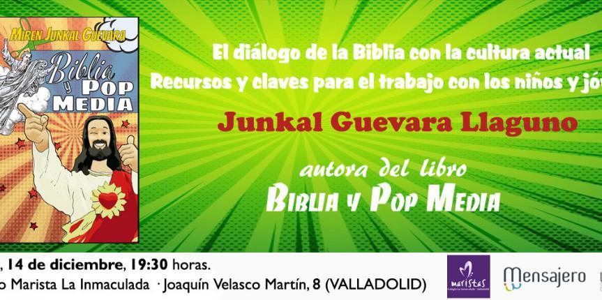 La Biblia y la cultura actual, una relación que presenta la teóloga Junkal Guevara en el Colegio Marista de La Inmaculada (Valladolid)