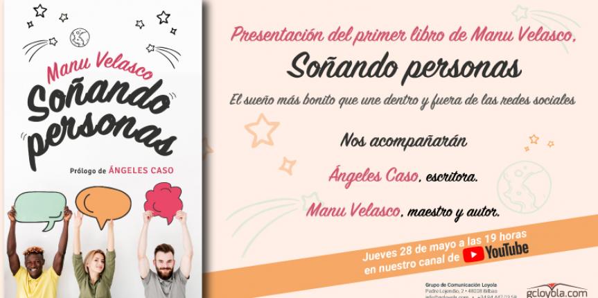 El docente Manu Velasco presenta su primer libro