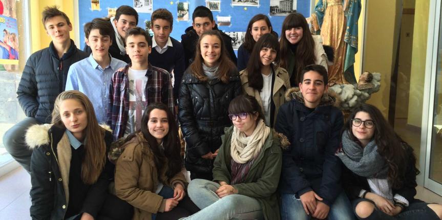 El proyecto Euro-Cora del Colegio Corazón de María (Zamora) gana el concurso Euroscola 2016
