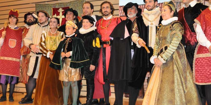 Recreación histórica del Colegio Nuestra Señora del Pilar (Valladolid) en la Feria Intur