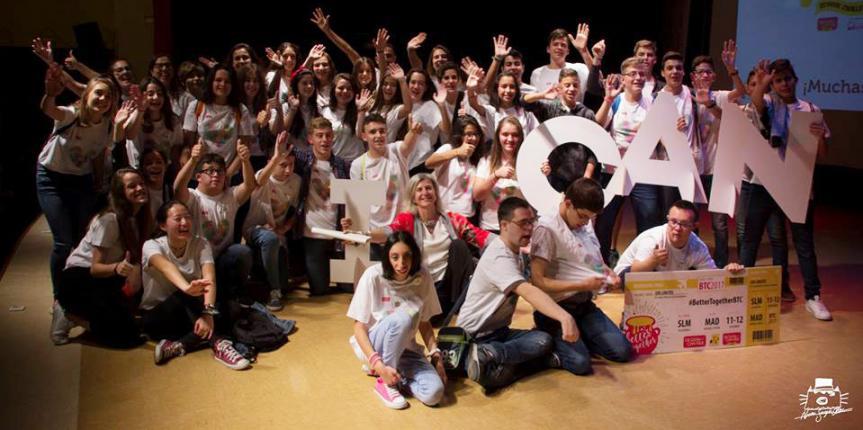 El proyecto 'Sin Límites' del Colegio Santa Teresa de Jesús (Salamanca) representará a España en el encuentro internacional Design for Change 2017