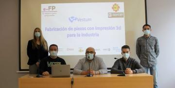 Un proyecto de alumnos de Cristo Rey (Valladolid), clasificado para la final de la II edición del concurso de Emprendimiento de FP de la Cámara de Comercio de España y la Fundación Créate