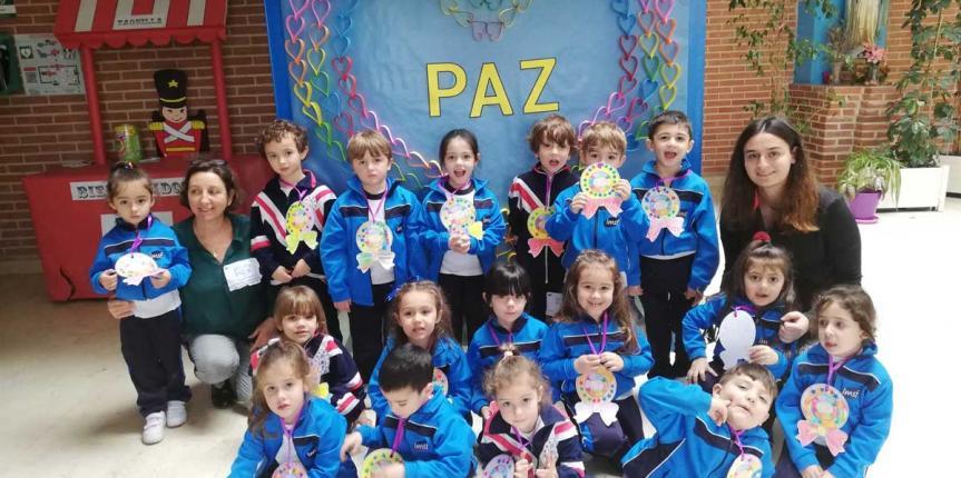 Los colegios de Escuelas Católicas se vuelcan en la celebración del Día de la Paz 2020