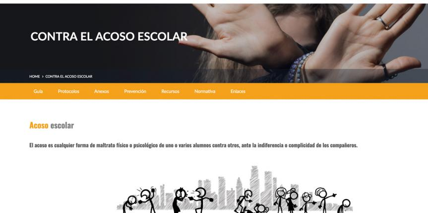 Escuelas Católicas estrena nuevo espacio web para luchar contra el acoso escolar