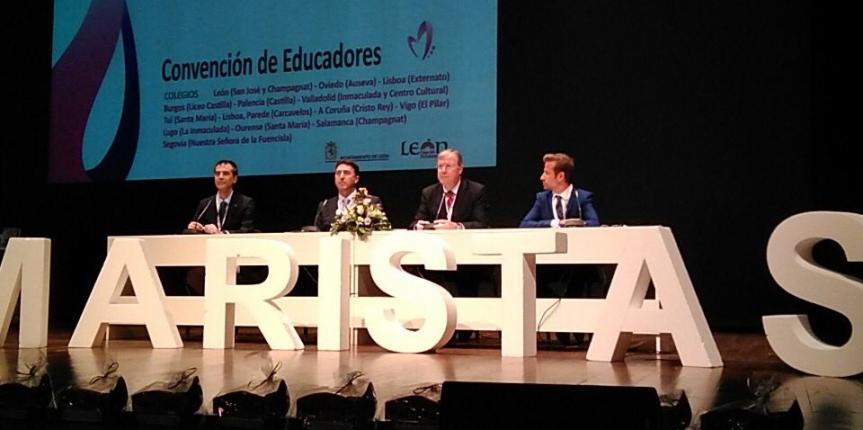 Escuelas Católicas Castilla y León participa en la Convención de Educadores Maristas de León