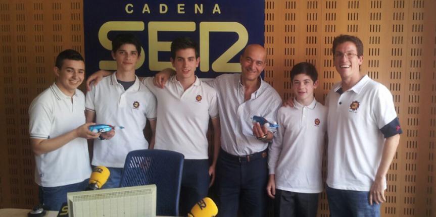 Un equipo del colegio Cristo Rey (Valladolid) participa en el rally de Fórmula I Portugal