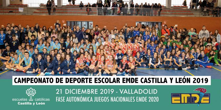 Jornada de Deporte Escolar EMDE Castilla y León: Lourdes, Inmaculada Maristas y Corazonistas consiguen su billete para los Juegos Nacionales EMDE 2020