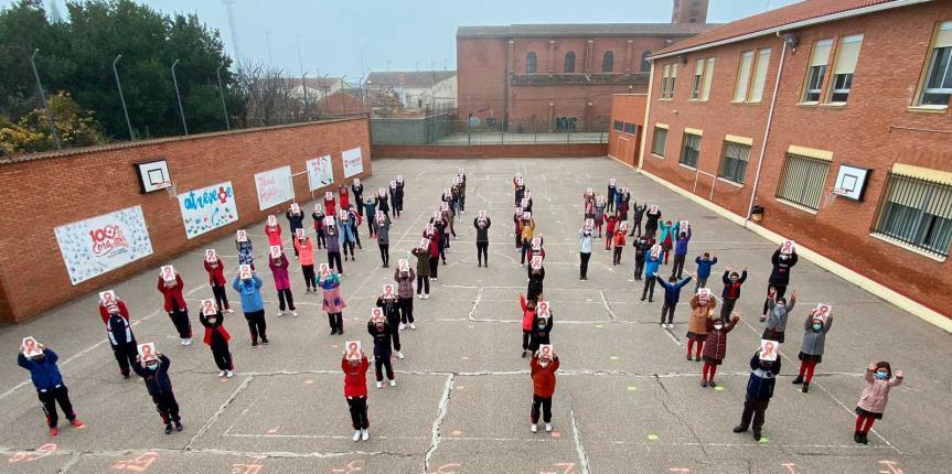 Los centros de Escuelas Católicas Castilla y León se vuelcan en la protesta con la Ley Celaá