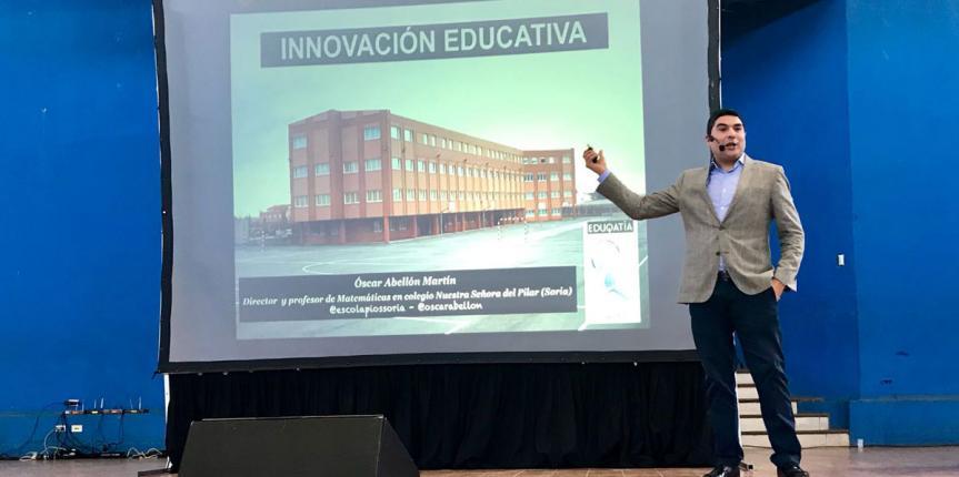 Exportando innovación a latinoamérica desde Escolapios (Soria)