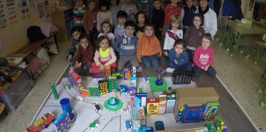 El Colegio Claret (Segovia), ganador del concurso Artistas del Reciclaje
