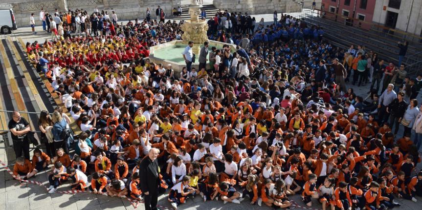 Los colegios diocesanos de Burgos inician el curso con un acto conjunto
