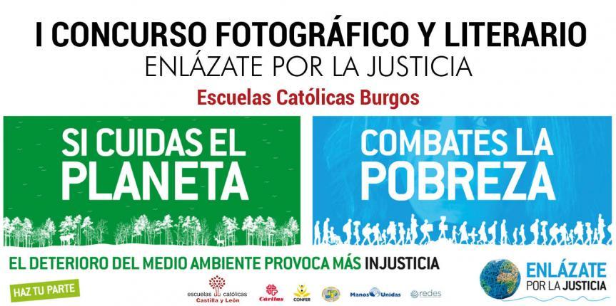 Escuelas Católicas Burgos convoca el primer Concurso fotográfico y literario 2017 'Enlázate por la justicia'