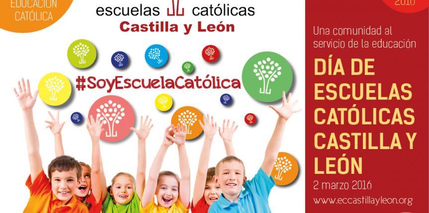 Los 186 centros concertados de la región celebran el 2 de marzo el Día de Escuelas Católicas Castilla y León