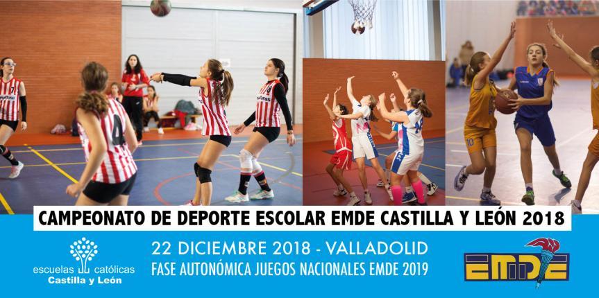 Campeonato de Deporte Escolar EMDE Castilla y León: El baloncesto femenino ya conoce sus finalistas