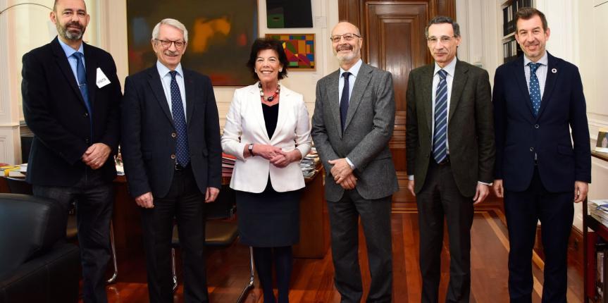 Reunión de Escuelas Católicas con la Ministra de Educación. EC apela a la moderación y la sensatez de todo el arco parlamentario en la tramitación de la nueva ley educativa