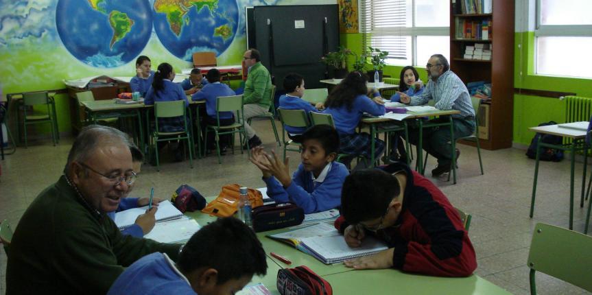 Comunidad de aprendizaje del Colegio Apóstol San Pablo (Burgos)