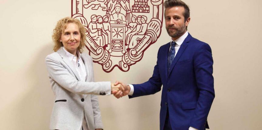 Escuelas Católicas Castilla y León y la Universidad Pontificia de Salamanca firman un convenio de colaboración