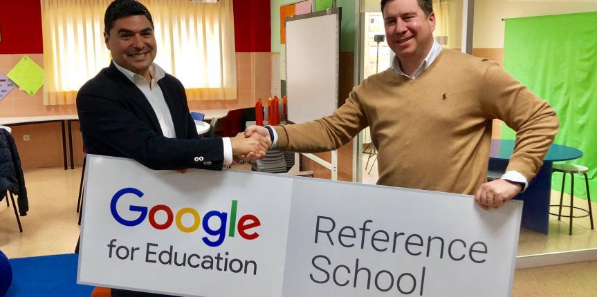 Escolapios Soria, primera 'Escuela Referente Google' de Castilla y León