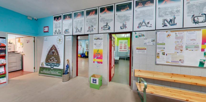 Educar en tiempos de coronavirus: Centro Menesiano Valladolid