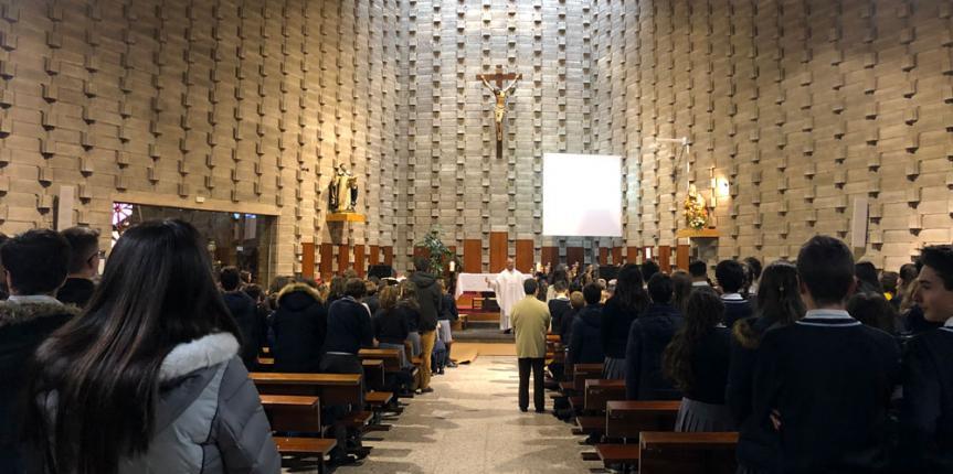 Celebración de las fiestas de la Niña María en el Colegio Madres Concepcionistas (Burgos)