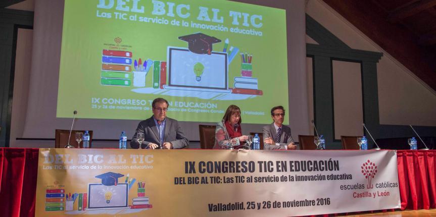El futuro TIC de los docentes y los centros, a debate en el IX Congreso TIC en Educación