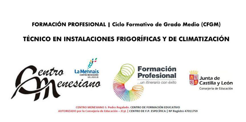 El Centro Menesiano de Valladolid estrena ciclo de Instalaciones Frigoríficas y Climatización con plazas libres por cubrirse
