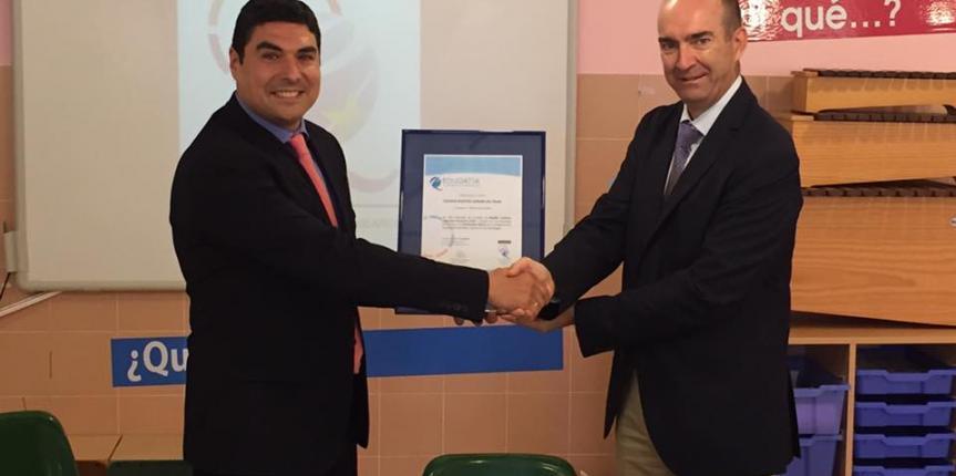 El Colegio Nuestra Señora del Pilar (Soria), primer centro español con certificado europeo innovador