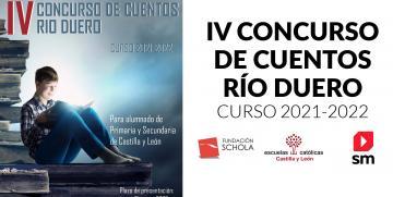Fundación Schola y Escuelas Católicas Castilla y León entregan los premios del Concurso de Cuentos Río Duero
