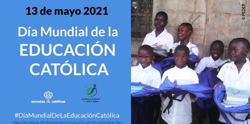 La escuela católica celebra mañana, 13 de mayo, el Día Mundial de la Educación Católica