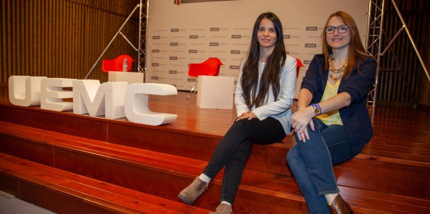 """Cristina Usón y Dana Tura: """"Es necesario que los alumnos adquieran conocimientos, pero también que los pongan en práctica"""""""