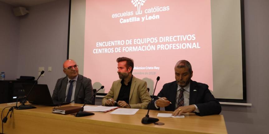 El Encuentro de Centros de FP de Escuelas Católicas Castilla y León apuesta por una FP moderna, dual, de calidad y orientada a la empleabilidad