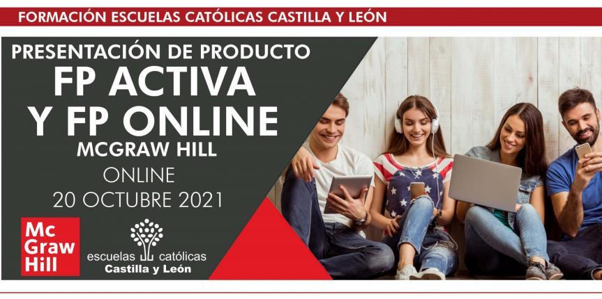 Presentación de  FP Activa y FP Online de McGraw Hill (Online -20 de octubre, de 16:30 a 17:30 h. )