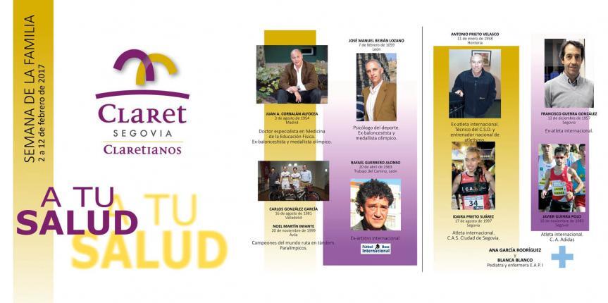 Semana de la familia en el Colegio Claret (Segovia)