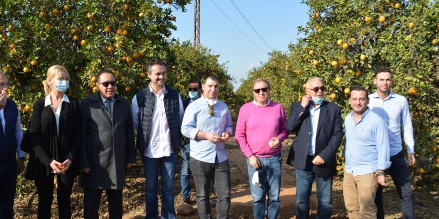 Egipto abre sus puertas a la preciada industria agroalimentaria de Castilla y León gracias al Colegio San Gabriel