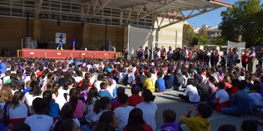 El Colegio Claret (Segovia), en fiestas