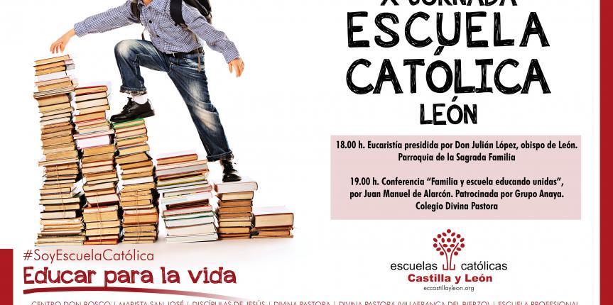 Centros y docentes de León celebran el Día de Escuelas Católicas