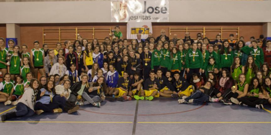 400 escolares participaron en la I Jornada de Deporte Escolar Escuelas Católicas Castilla y León