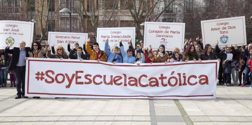 Día de Escuelas Católicas Castilla y León. Los centros concertados católicos de la comunidad celebran y comparten su proyecto educativo común