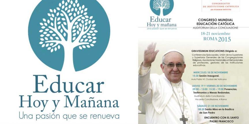 Congreso Mundial de la Educación Católica en Roma