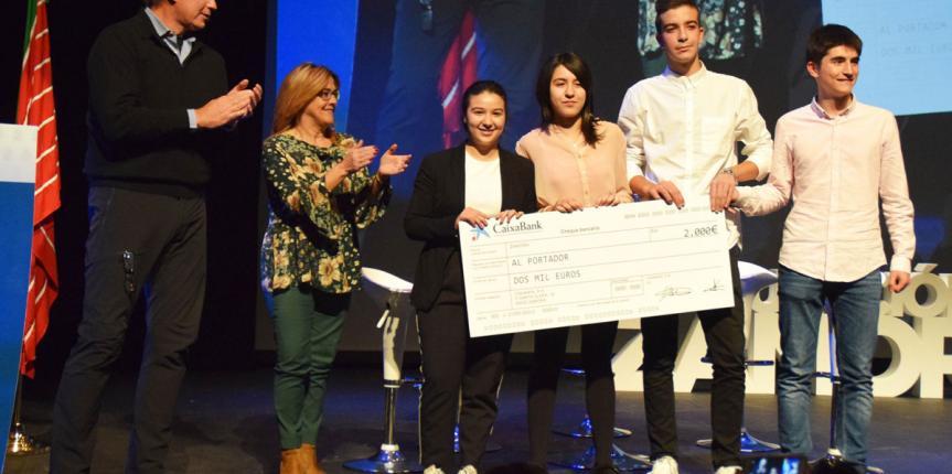 El Colegio Medalla Milagrosa (Zamora) y un alumno del Centro Menesiano ZamoraJoven triunfan en los II Premios Talento Emprende